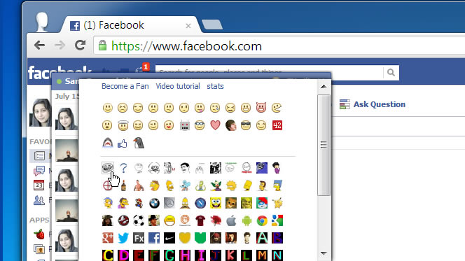 Estensione Chrome per la chat di Facebook