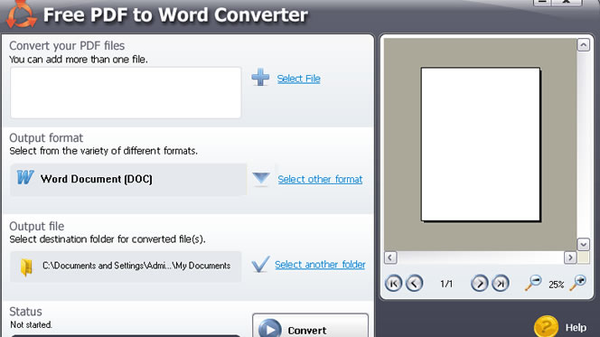 Convertire un file PDF in uno Word