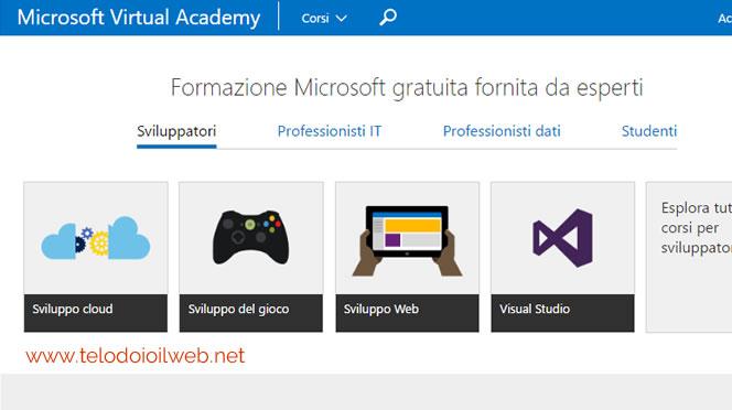Video corsi Microsoft gratuiti online – formazione professionale