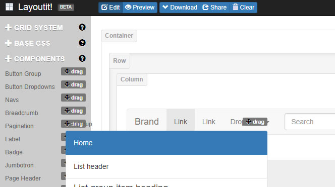 Creare-layout-Bootstrap