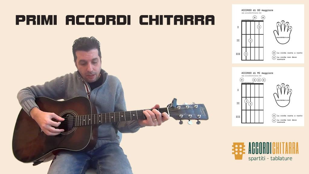 Accordi chitarra – le lezioni gratis per principianti