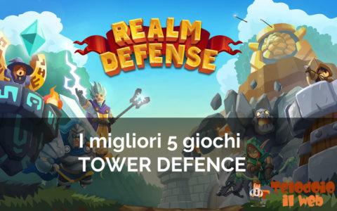 I 5 migliori giochi tower defence gratis da giocare online