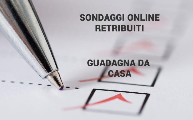 sondaggi pagati con paypal iniziare a guadagnare online